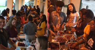 Livonia High School High Achieving Seniors Rewarded With Crawfish Boil