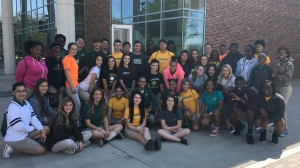 LHS Wildcats at the conclusion of their educational tour of Southeastern Louisiana University
