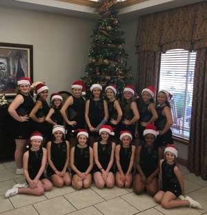 Junior Varsity Squad Cheers Up Nursing Home Residents