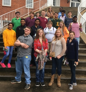 Livonia High School Students Participate in District Literary Rally