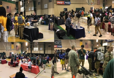 Livonia High Hosts Pointe Coupee Parish Career Fair